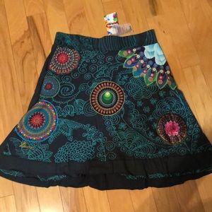 41fa2364f8 casablanca Skirts | Burgundy Skirt | Poshmark